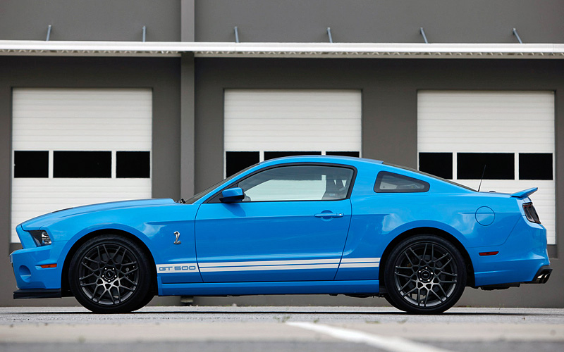2012 Ford Mustang Shelby GT500 SVT