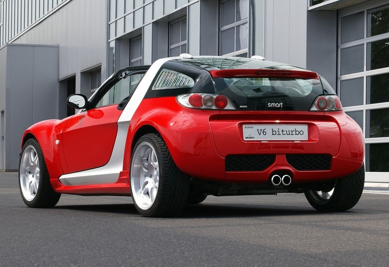 2003 Smart Brabus Roadster Coupe V6 BiTurbo