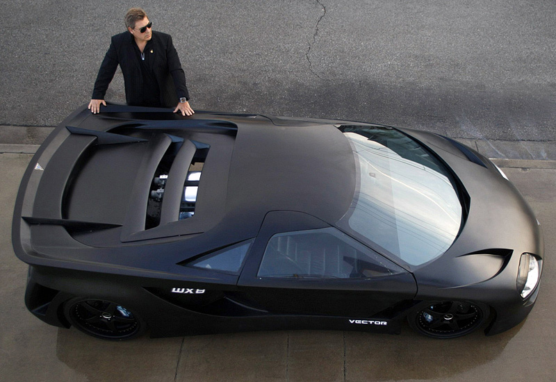 2008 Vector Avtech WX8 Hypercar Concept - specifications ...