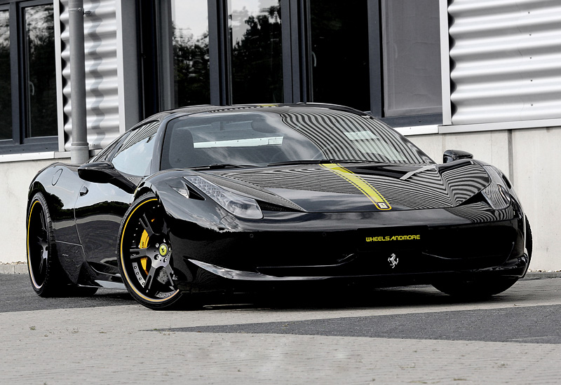 2013 Ferrari 458 Spider Wheelsandmore Black Stage Ii Price And Specifications