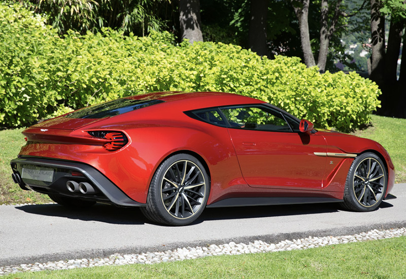 2016 Aston Martin Vanquish Zagato Price And Specifications